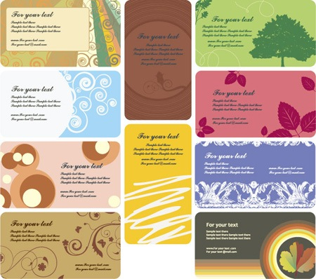 business cards 7-15
