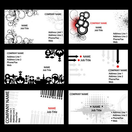 business cards 7-3