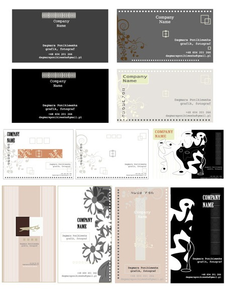 business cards 7-9